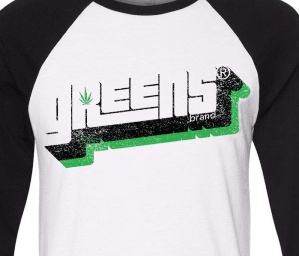 greens®brand-stampd-design-black-raglan-closeup