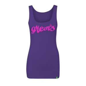 greensbrand-girls-script-design-purple-tanktop-front