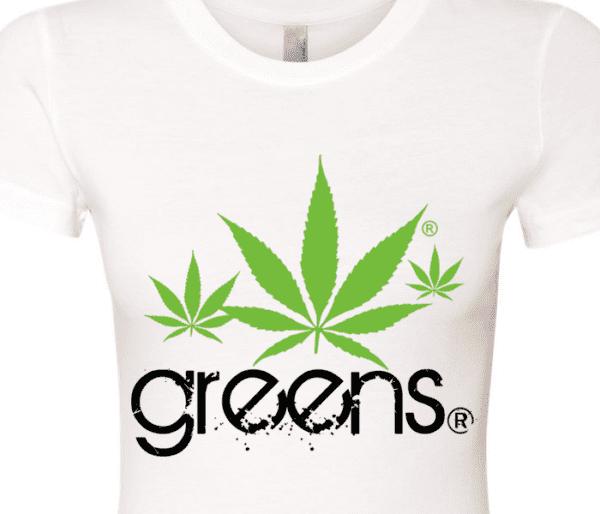 greensbrand girls shakes design white t-shirt closeup