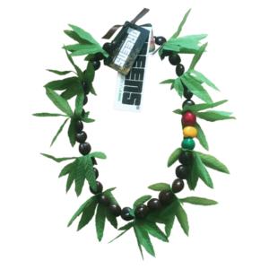 greensbrand kukui beads rasta necklace