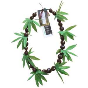 greensbrand brown kukui beads