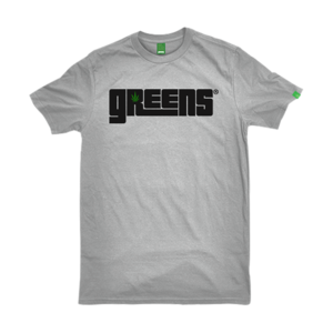 greensbrand OG logo design Grey t-shirt