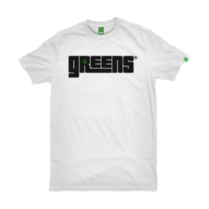 greensbrand OG logo design white t-shirt