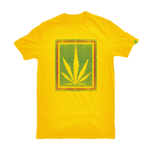 greensbrand rasta burlap design yellow t-shirt