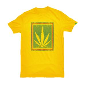 greensbrand rasta burlap design yellow t-shirt